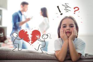 Ребёнок как причина развода.